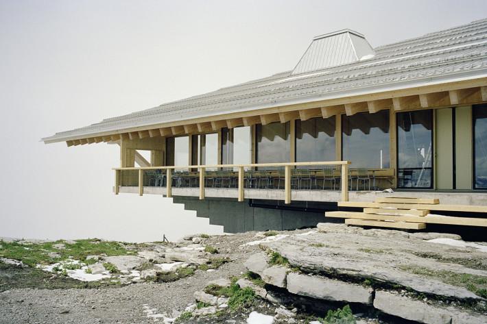 Gipfel Restaurant, Chäserrugg.