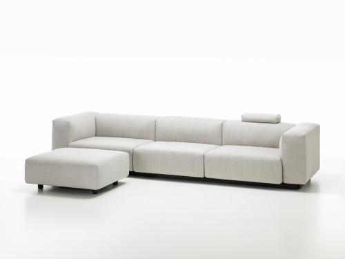 Soft Modular Sofa di JasperMorrison per Vitra.