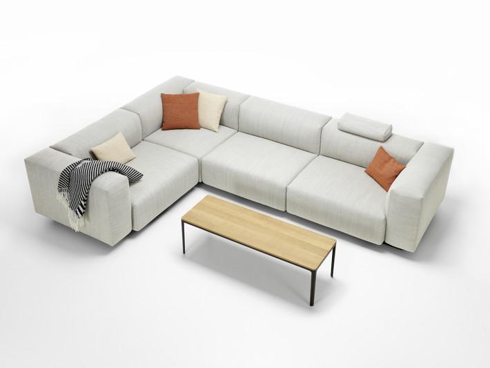 Soft Modular Sofa by JasperMorrison for Vitra.