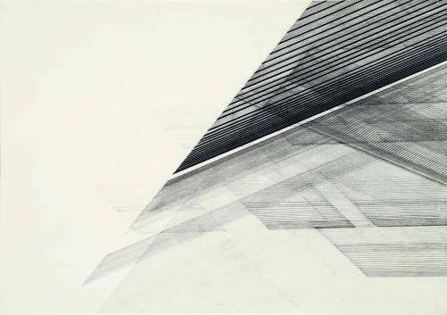 Nasreen Mohamedi, Untitled, 1975 circa. Sikander e Hydari Collection.
