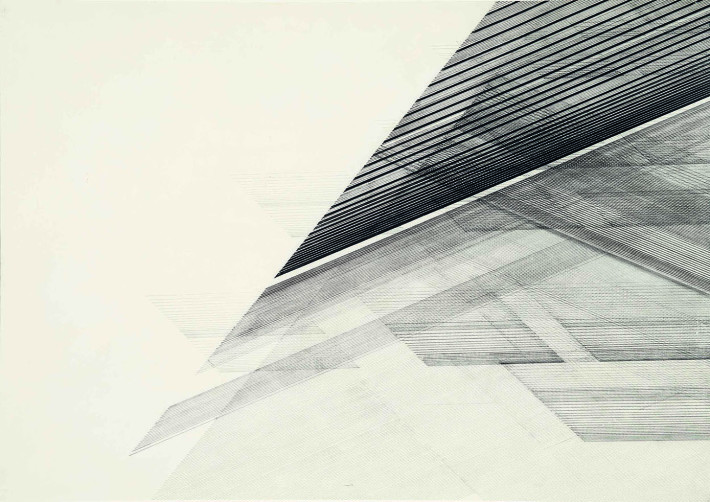 Nasreen Mohamedi, Untitled, 1975 circa. Sikander e Hydari Collection.