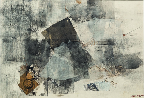 Nasreen Mohamedi, Untitled, 1969. Collection of Gayatri and Priyam Jhaveri.