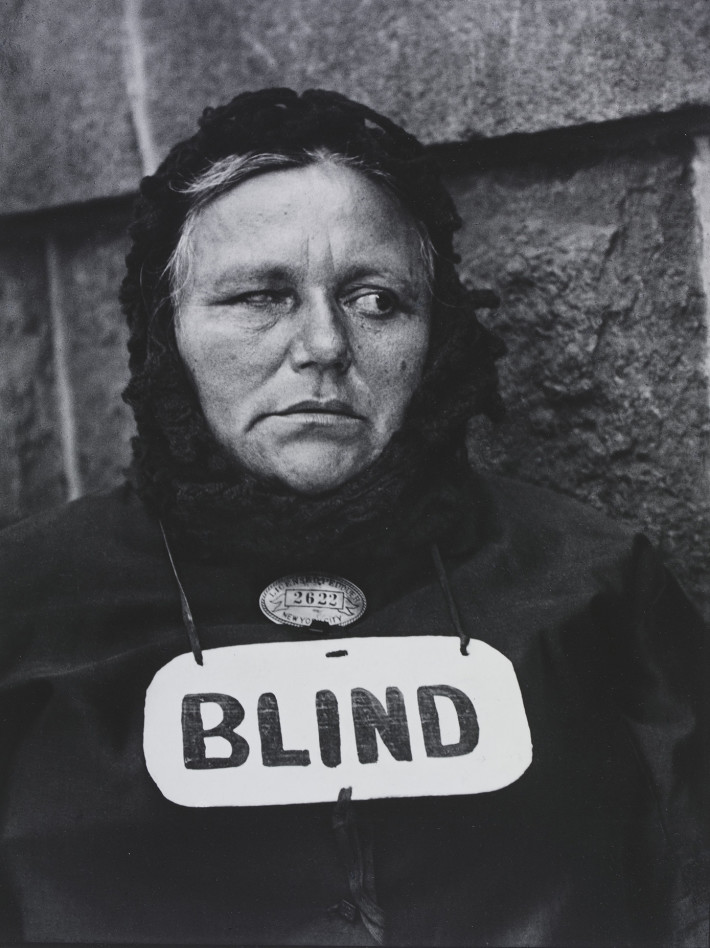 Paul Strand, Blind Woman, New York, 1916. © Paul Strand Archive, Aperture Foundation.