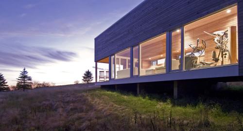 House 22 spa, Nova Scotia.