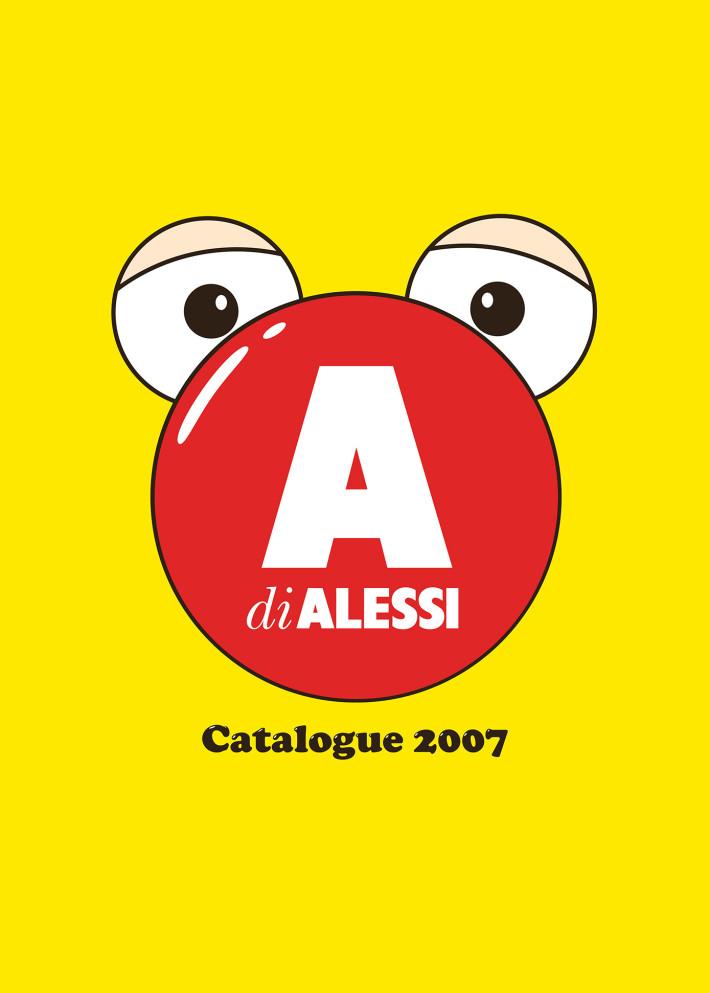 Copertina del catalogo A di Alessi, 2007.