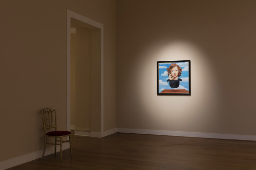 Francesco Vezzoli, René Magritte's Marlene in a hat (After Francesco Vezzoli), 2016.