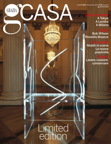 Grazia Casa, novembre 2011. Cover.
