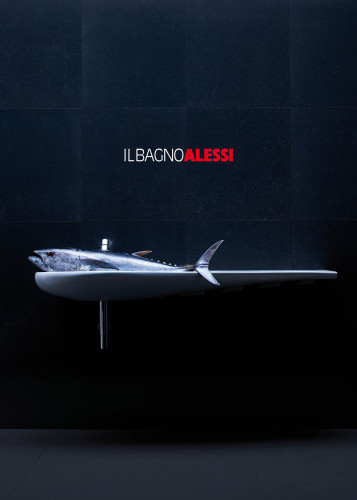 Copertina del catalogo Il Bagno Alessi, 2010, Foto Fabrizio Bergamo.