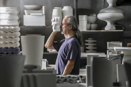 Alessio Sarri, ceramista, Ceramiche Sarri.