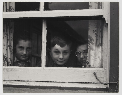 Paul Strand, Milly, John and Jean MacLellan, South Uist, Hebrides, 1954. © Paul Strand Archive, Aperture Foundation.