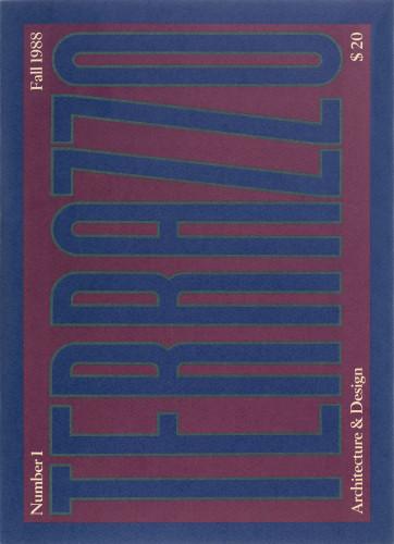 Terrazzo Magazine, n°1, autunno 1988.