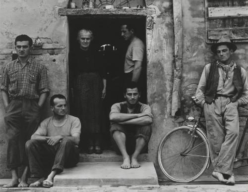 Paul Strand, The Family, Luzzara (The Lusettis) 1953. © Paul Strand Archive, Aperture Foundation.