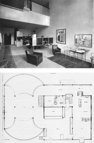 Le Corbusier, padiglione dell'Esprit Nouveau, Exposition Internationale des Arts Decoratifs, Parigi, 1925.
