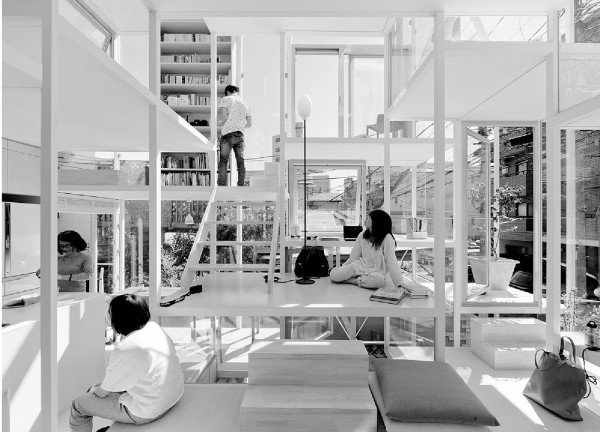 Sou Fujimoto, House NA, Tokyo, 2007-2011.