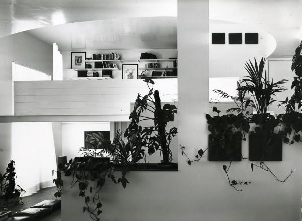 Appartamento piazzetta Bossi, 1968. © Università Iuav di Venezia - Archivio Progetti, fondo Giorgio Casali. Foto: Giorgio Casali.
