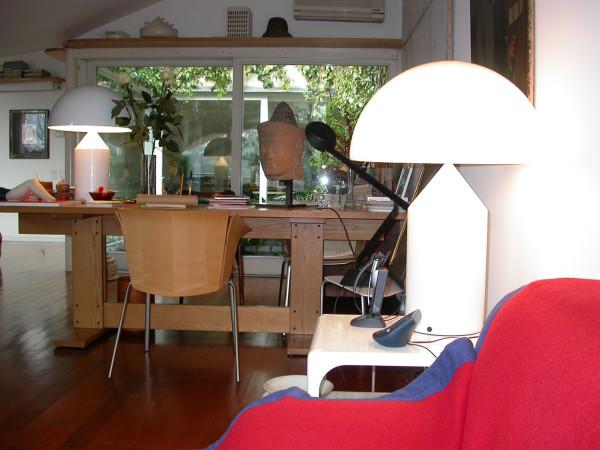 Appartamento via Gesù, 1984/85. © Archivio Studio Magistretti - Fondazione Vico Magistretti.