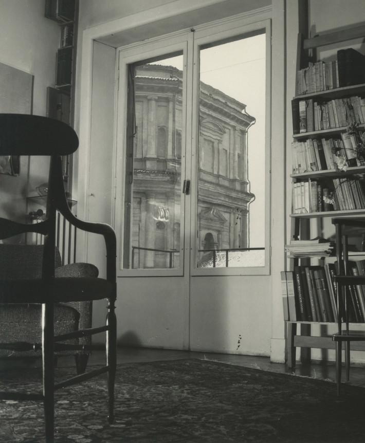Appartamento in via Bellini, 1953. © Università Iuav di Venezia - Archivio Progetti, fondo Giorgio Casali. Foto: Giorgio Casali.