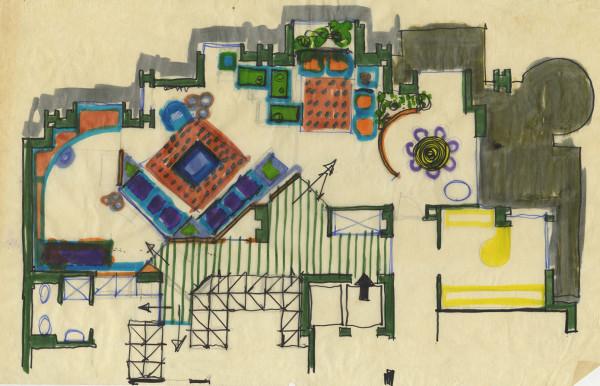 Appartamento in via Jommelli, 1969. © Archivio Studio Magistretti - Fondazione Vico Magistretti.