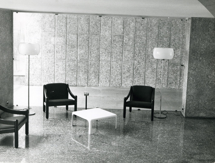 Appartamento corso di Porta Romana, 1962/67. Foto: Pegoraro.