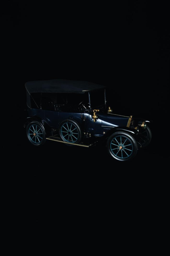Fiat modello Zero, 1912, Italia. Museo dell'Automobile, Torino.