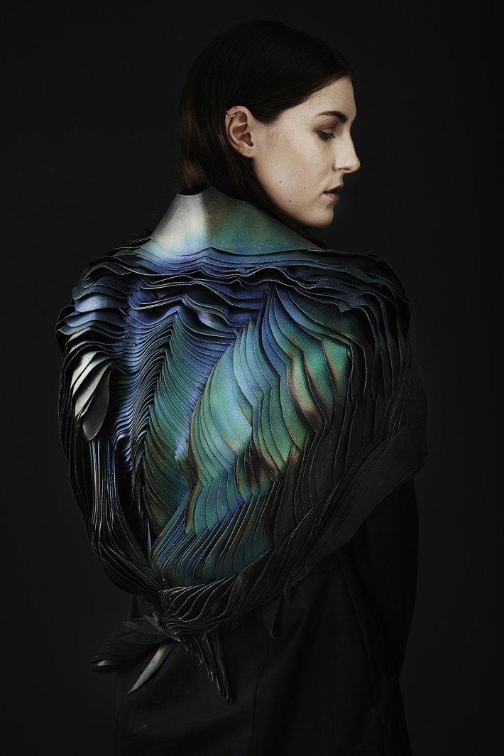 TheUnseen, Lauren Bowker, Jacket, from the AIR collection, 2014. Courtesy: Jonny Lee Photography. © TheUnseen.
