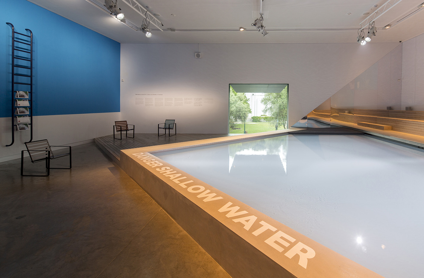 The Pool, Padiglione Australia, Biennale di Architettura di Venezia, 2016.