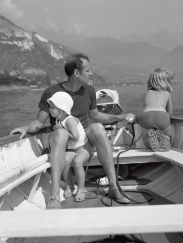 Richard Sapper e famiglia.