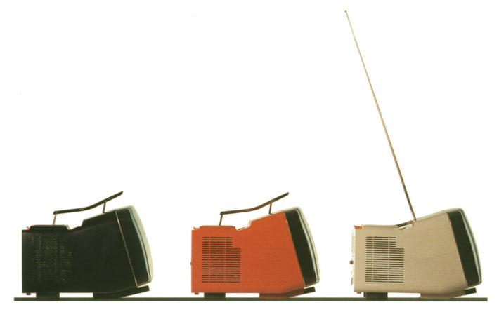 Algol, design di Richard Sapper e Marzo Zanuso per Brionvega, 1964.