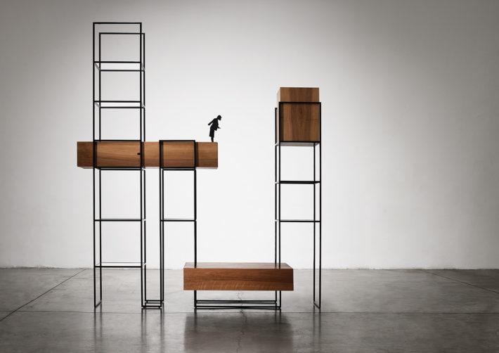 Babel, collezione Metropolis, design di Giacomo Moor, 0000. Foto: Max Rommel.