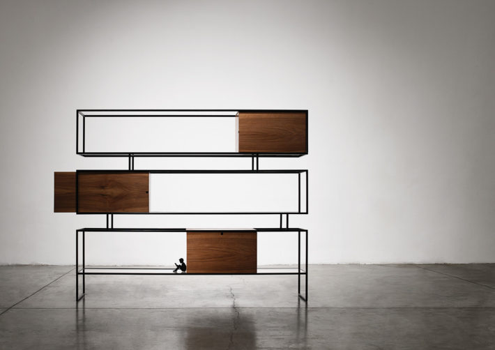 Dedalus, collezione Metropolis, design di Giacomo Moor, 0000. Foto: Max Rommel.