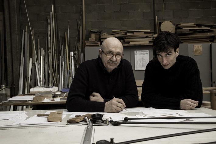 Giacomo Moor e Giordano Viganò. Foto: Laila Pozzo.