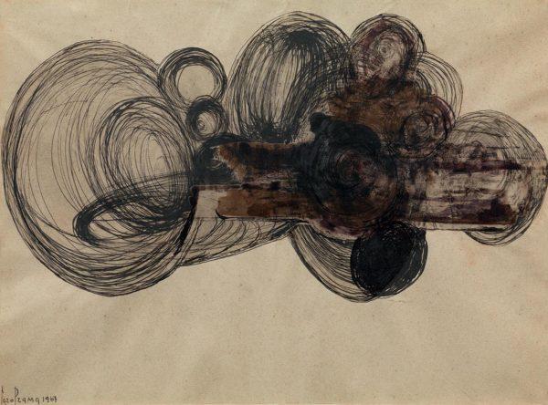 Carol Rama, Bricolage, 1967.