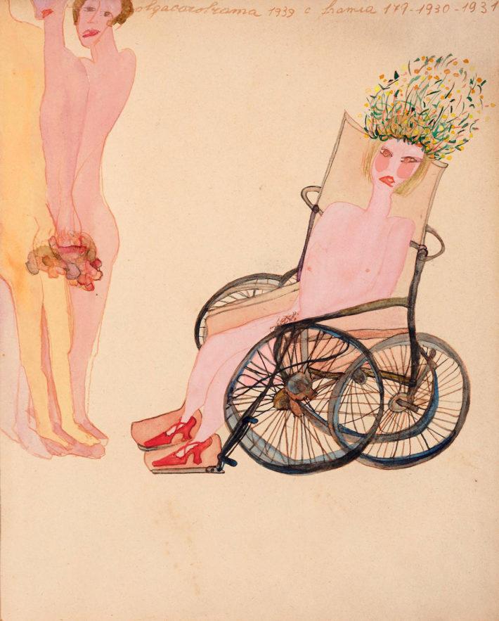 Carol Rama, Passionate, 1939. Collezione privata. Foto: Colecció particular, Torí.