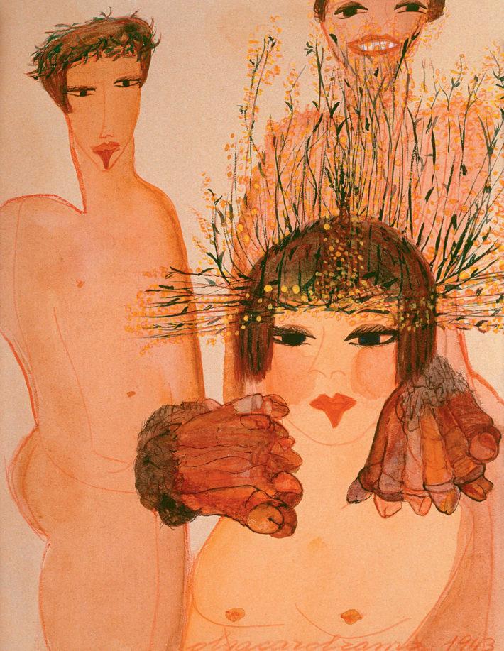 Carol Rama, Appassionata, 1943.