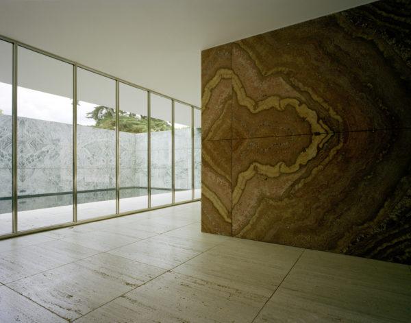 Mies van der Rohe, Barcelona Pavilion, Barcelona, Spagna, 2013. © Armin Link.