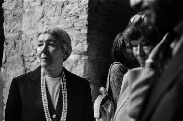 Letizia Battaglia, Gae Aulenti, Torino, 2006. Courtesy: Letizia Battaglia.