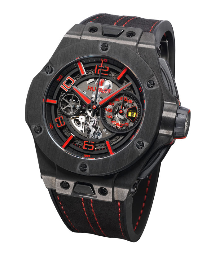 Big Bang Ferrari Unico, Hublot.