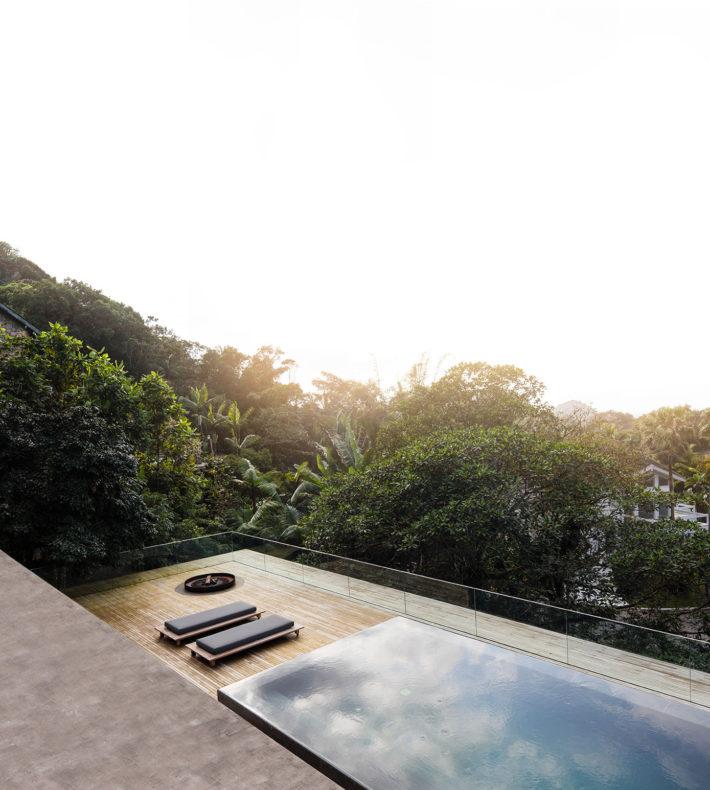 Casa na Mata, Guarujá