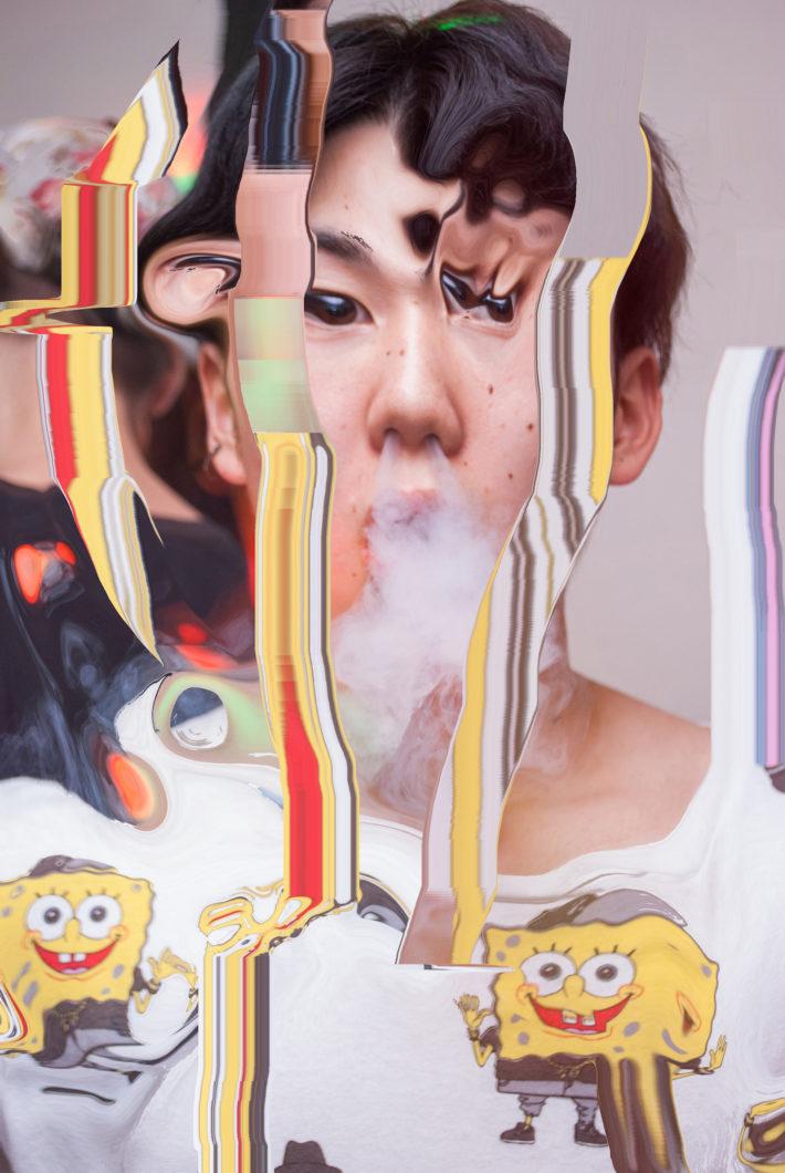 Kenta Cobayashi, Smoking (KENT), #smudge, 2016. © Kenta Cobayashi. Courtesy: G/P gallery.