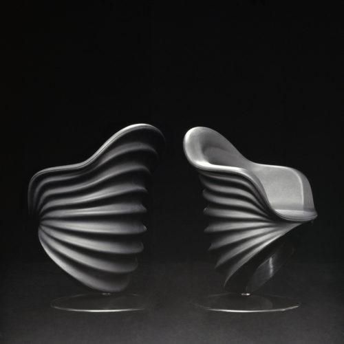Teneride, design di Mario Bellini per Cassina, 1970. Prototipo di sedia per ufficio. Foto: Falchi&Salvador.