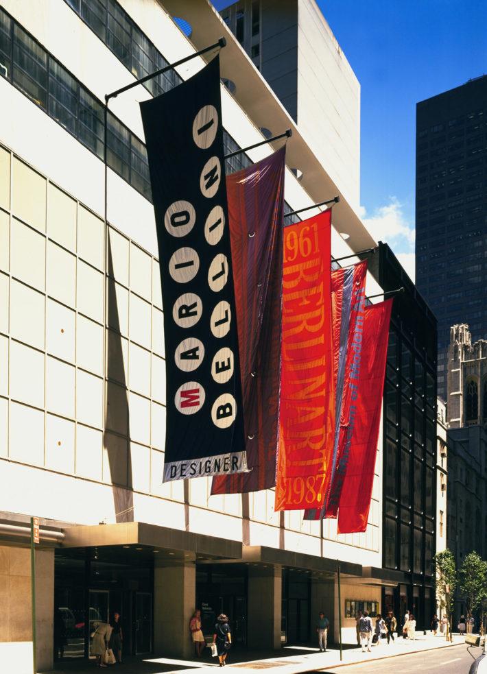 Mostra Mario Bellini designer, al MoMA di New York, 1987. Archivio Mario Bellini.