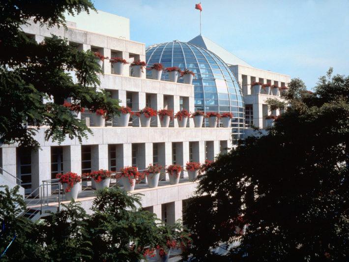 Tokyo Design Center, Tokyo, 1988-1992. Archivio Mario Bellini.