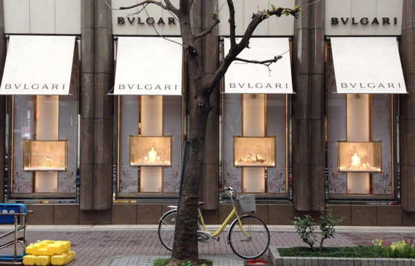 Emiliano Ponzi, Bridal windows Asia, Bulgari (Italy), 2017.