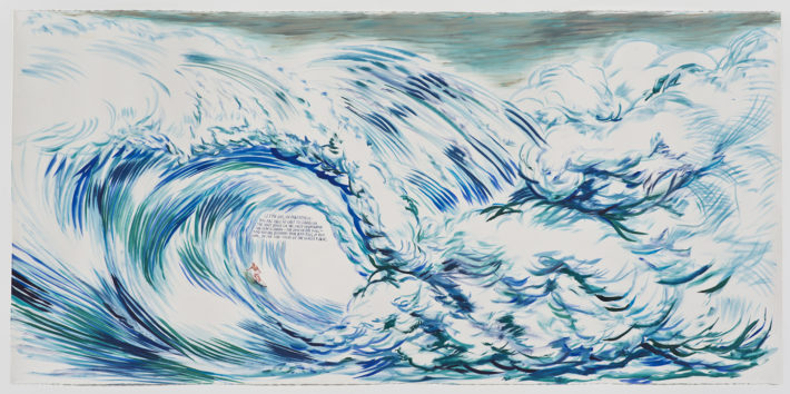 Raymond Pettibon, No Title (Let me say,), 2012. Private collection, Los Angeles. Courtesy: Regen Projects, Los Angeles.