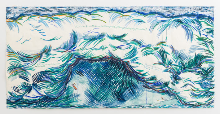 Raymond Pettibon, No Title (As to me), 2015. Private collection, Los Angeles. Courtesy: Regen Projects, Los Angeles.
