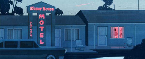 Emiliano Ponzi, The Voyeur Motel, The New Yorker (USA), 2016.
