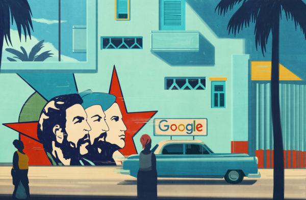 Emiliano Ponzi, Googling Cuba, Penn Gazette (USA), 2016.