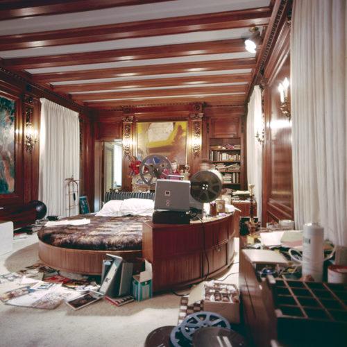 Viaggio in USA, fotografia di Mario Bellini della Playboy Mansion, 1972. Archivio Mario Bellini.