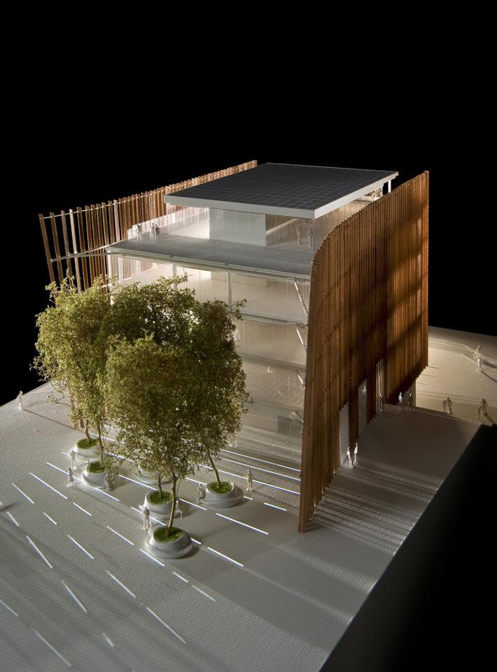 Coima Headquarters, Porta Nuova, Milano, 2013 – in corso di costruzione. Progetto Mario Cucinella Architects.