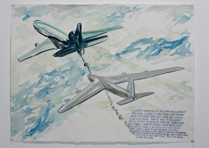Raymond Pettibon, No Title (I was surprised), 2008. Aishti Foundation, Beirut, Lebanon. Courtesy: Raymond Pettibon and Regen Projects, Los Angeles.